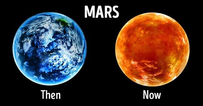 Một số dấu hiệu cho thấy phân tử cần thiết cho sự sống xuất hiện trên sao Hỏa tồn tại dưới các dạng thức trong miệng hố Gale.