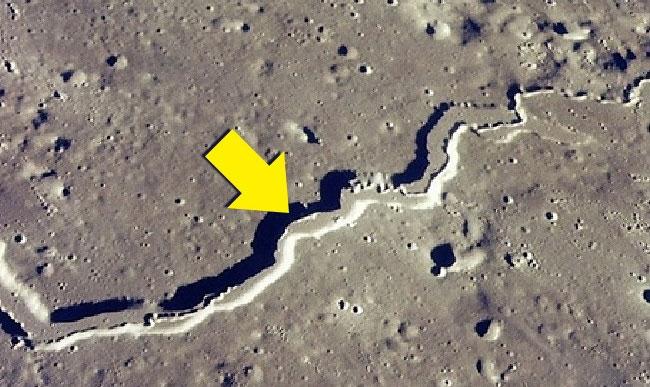 Hầu như rất ít người biết rằng động đất cũng có thể xảy ra trên mặt trăng