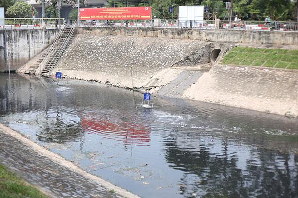"""Dự án này được kỳ vọng sẽ """"giải cứu"""" dòng sông này khỏi ôn nhiễm trầm trọng."""