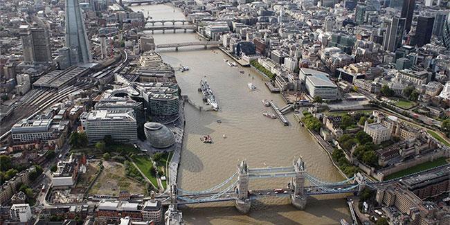 Sông Thames của Anh cũng bị ô nhiễm khi nồng độ kháng sinh tại đây cao hơn mức an toàn
