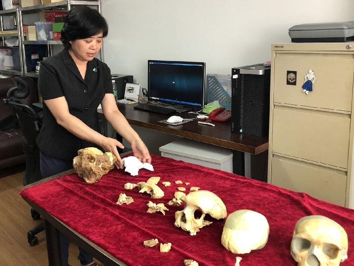 Giáo sư Wu Xiujie, một thành viên trong nhóm nghiên cứu.