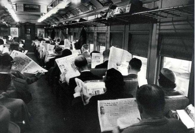 Thời không có smartphone...