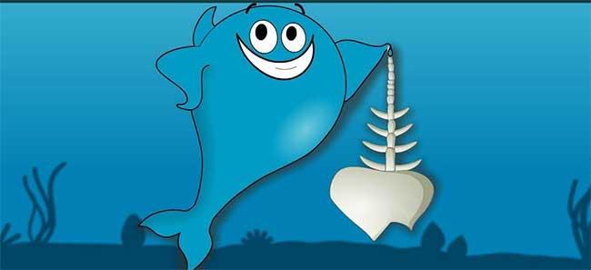 Nhờ tính linh hoạt của sụn nên cá mập có thể bơi rất nhanh.