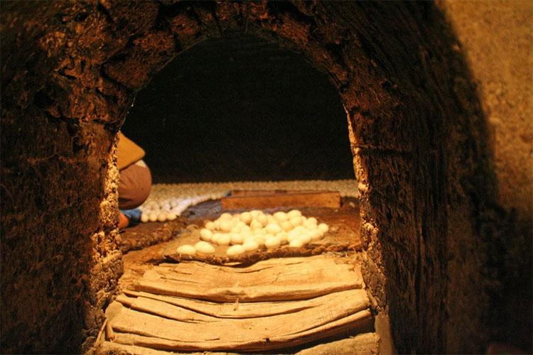 Lò ấp trứng Ai Cập cổ đại.