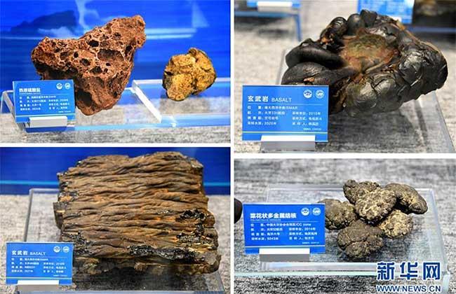 Một số mẫu vật hiếm được tìm thấy ở độ sâu 500m.