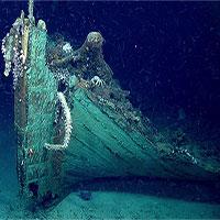 Bất ngờ phát hiện xác tàu đắm thế kỷ 19 bí ẩn ở Vịnh Mexico