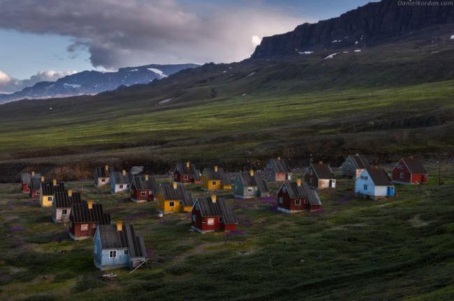 Phần lớn dân ở Greenland là người Eskimo.
