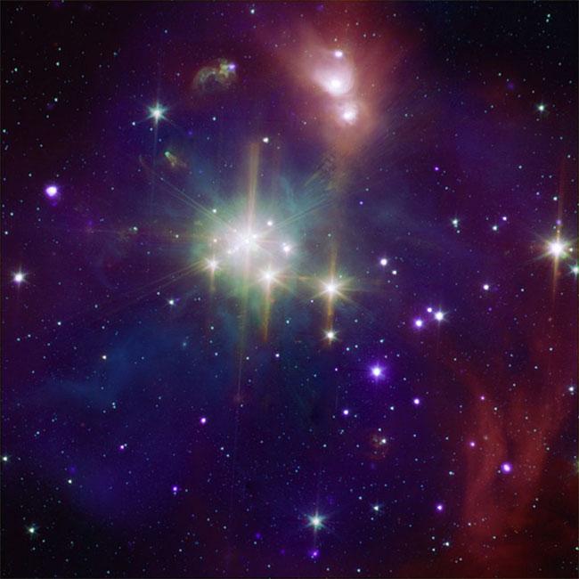 10 bức ảnh vũ trụ vô giá được chụp bởi kính viễn vọng Spitzer của NASA - a2