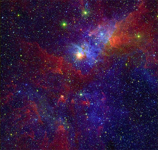 10 bức ảnh vũ trụ vô giá được chụp bởi kính viễn vọng Spitzer của NASA - a4