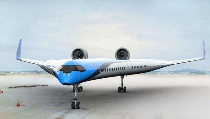 Thiết kế máy bay hình Flying-V