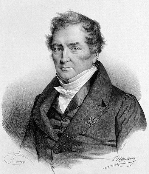 François Joseph Victor Broussais, người khởi động cơn sốt đỉa tại Châu Âu