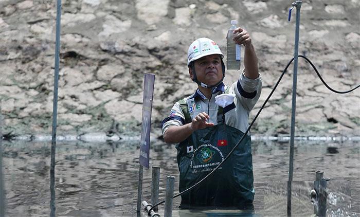 Bản thân công nghệ này tạo thành hệ thống tăng khả năng tự làm sạch của dòng sông