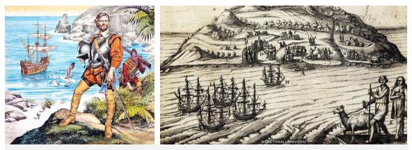 """""""Hải tặc"""" thực chất là các thuyền thám hiểm phương Tây."""