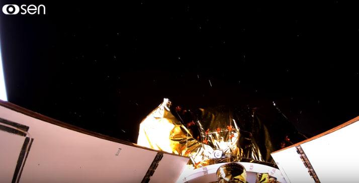 Đây là lần đầu tiên trên thế giới truyền phát video 4K từ tàu vũ trụ