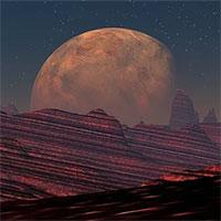 Miệng núi lửa rộng 1500km trên sao Hỏa có thể có sự sống