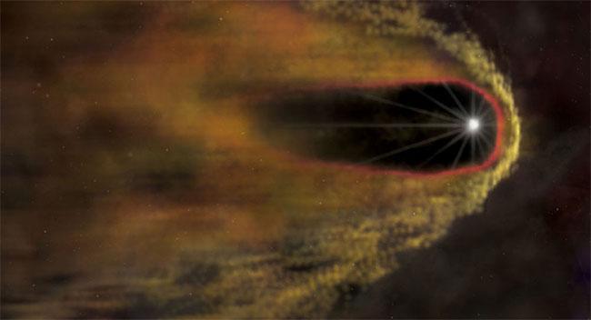 """Chuỗi âm thanh tạo trên cơ sở dữ liệu từ kính viễn vọng không gian """"Spektr-R"""""""