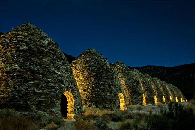 Lò than, nơi lưu giữ lịch sử công viên Thung lũng Chết