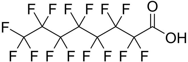 Per- and polyfluoroalkyl (PFAS) - hóa chất vĩnh cửu.