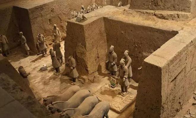 Lăng mộ Tần Thủy Hoàng có diện tích vô cùng lớn