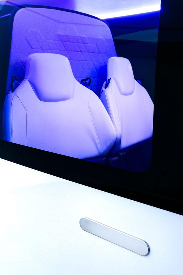 Ghế ngồi trên Uber Air giống như của một chiếc SUV xa xỉ, khác với trên trực thăng truyền thống.