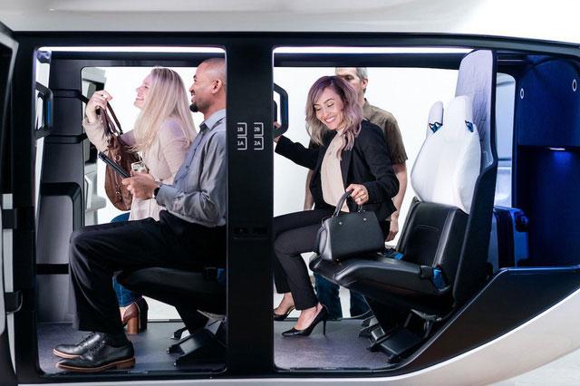 Nội thất của taxi bay này được thiết kế tùy chỉnh theo yêu cầu của các đơn vị vận hành