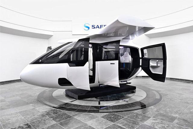 Uber Air đã hợp tác với Bipolar Studio để dựng bản mô phỏng đầy đủ nội thất của taxi bay đầu tiên.