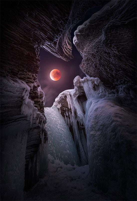 Vẻ đẹp huyền ảo của bầu trời đêm.