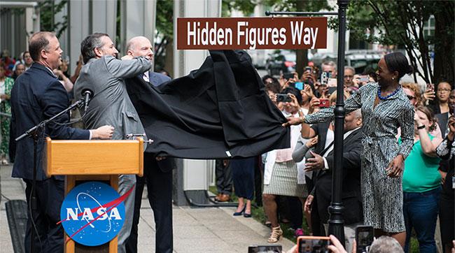Con đường đi qua trụ sở chính của NASA vừa được đổi tên thành Hidden Figures