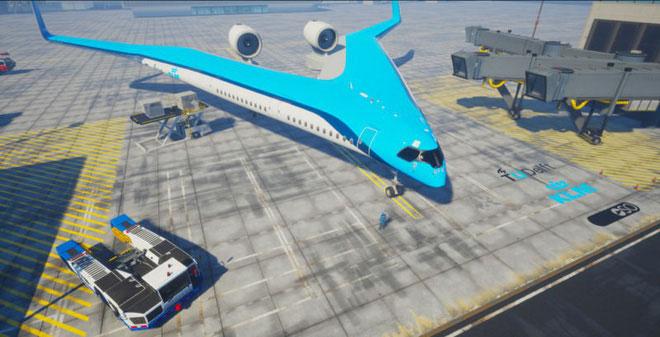 Máy bay Flying-V.