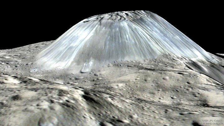 Đây cũng là quê hương của Ahuna Mons, ngọn núi lớn nhất trên tiểu hành tinh lớn nhất trong Hệ Mặt trời