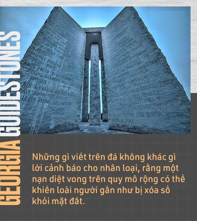 Những gì viết trên đá không khác một lời cảnh báo đến nhân loại