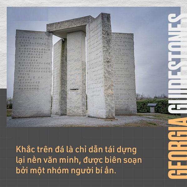 Khắc trên đá là chỉ dẫn tái dựng lại nền văn minh