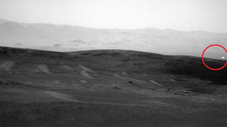 Vệt sáng bí ẩn xuất hiện trên sao Hỏa.