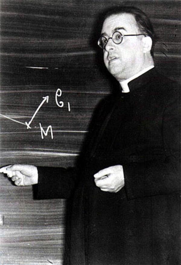 Nhà khoa học Georges Lemaitre.