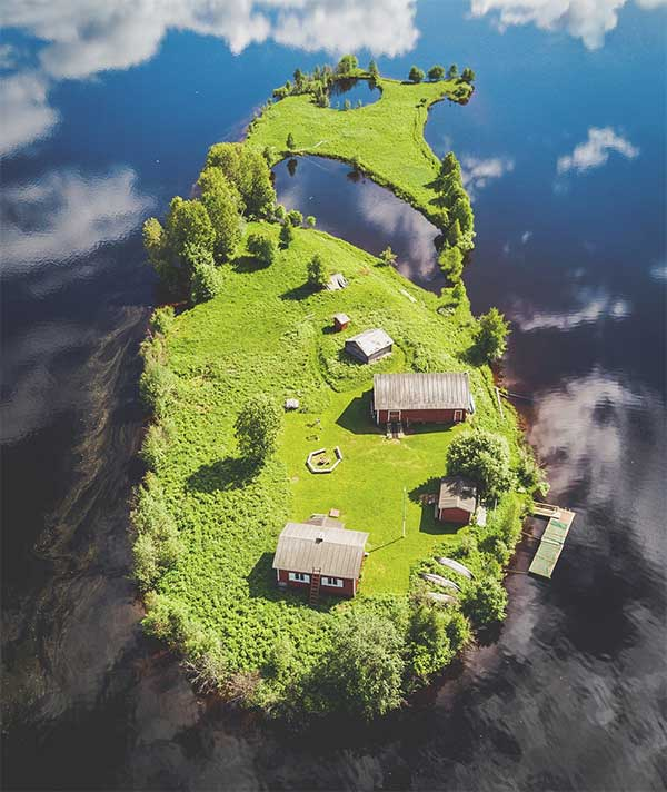 Mùa hạ trên đảo Kotasaari
