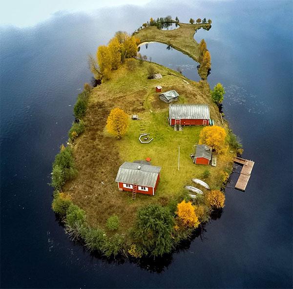 Mùa thu trên đảo Kotasaari