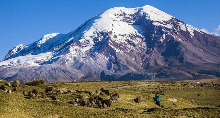 Đỉnh núi lửa Chimborazo