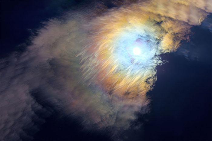 Hào quang của Mặt trăng