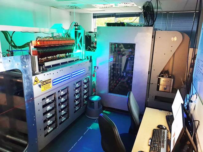 Cỗ máy ghi dữ liệu lên ADN của Catalog.