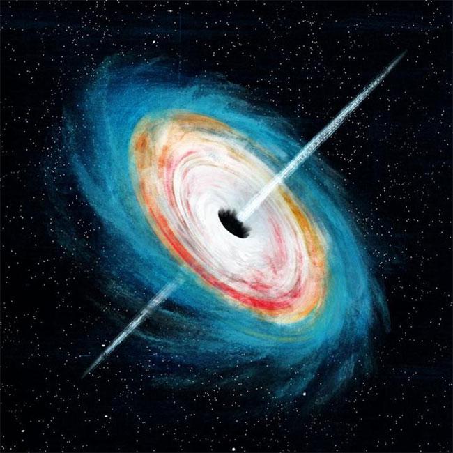 """Mô phỏng về """"quái vật"""" sơ khai của vũ trụ - (ảnh do nhóm nghiên cứu cung cấp)."""