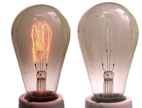 Edison hoàn chỉnh bóng đèn điện nhờ tre Nhật - ảnh 1