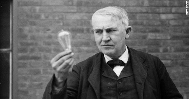 Thomas Alva Edison (1847- 1931)