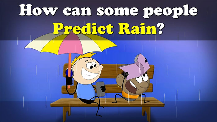 Khi một ai đó ngửi thấy mùi ozone, nó có thể giúp họ dự đoán mưa.
