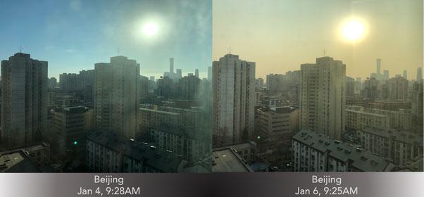 Ô nhiễm không khí ở Bắc Kinh