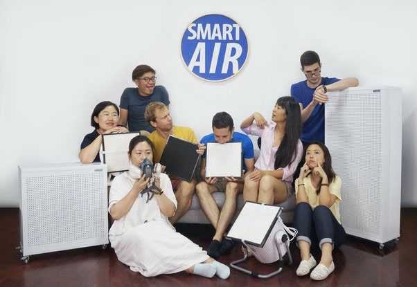 Các thành viên của dự án Smart Air
