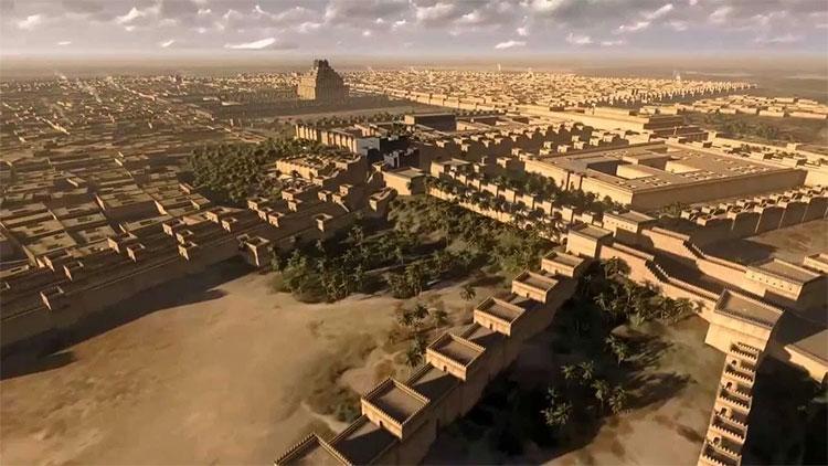 Babylon từng là thành phố đông dân nhất thế giới.