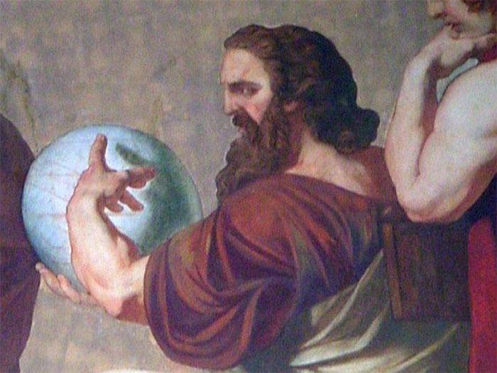 Anaxagoras được ghi nhận là một trong những người đầu tiên đưa ra nhận định Mặt trăng là một khối đá.