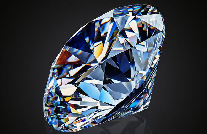 Dịch chuyển tức thời photon ánh sáng vào kim cương