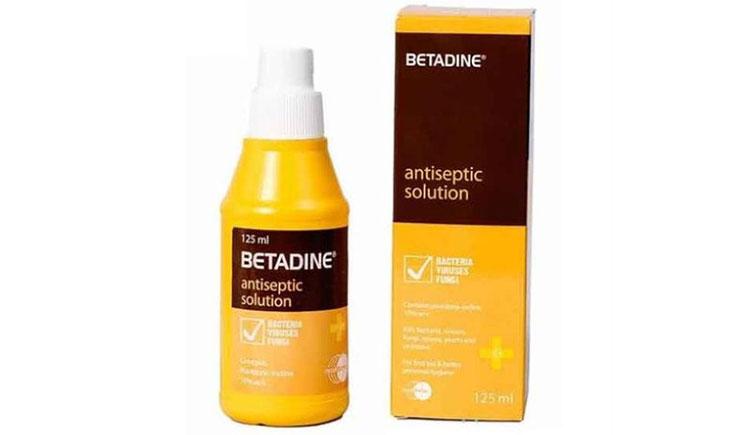 Betadine là một loại thuốc sát khuẩn