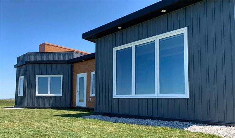 Chi phí để hoàn thành ngôi nhà, bao gồm cả đất là 373.850 USD.